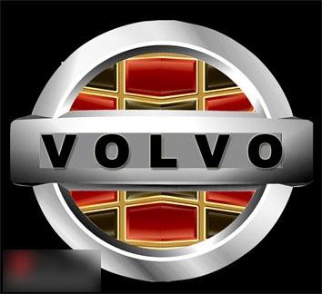 吉利帝豪标志-帝豪车标更换为帝豪沃尔沃 VOLVO 车标高清图片