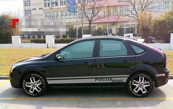 福克斯两厢改装的女星 经典福克斯两厢改装 新福克斯两厢高清图片