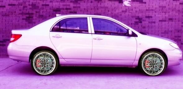 比亚迪f3改装 轮毂图片欣赏高清图片