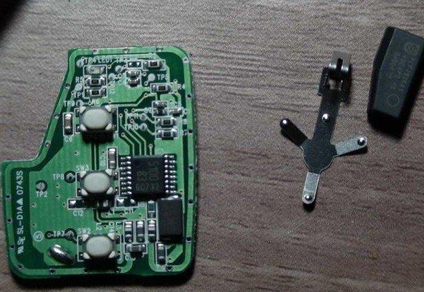 科帕奇钥匙改装 科帕奇备用钥匙改装 磊子车钥匙改装 科帕高清图片