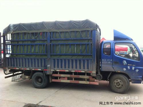 福田奥铃 2003款 2.8 手动 大白鲨 皮卡 柴油 670公斤 自用4.8米高栏货车高清图片