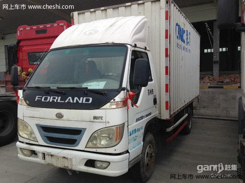 福田蒙派克2009款 2.5T 手动 超豪华型 7座 短轴 低价转让二手4.2米厢高清图片