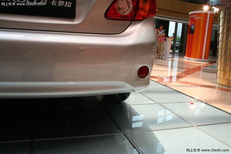 丰田 卡罗拉 排气管 图片  相关文章·卡罗拉1.6优惠7000高清图片
