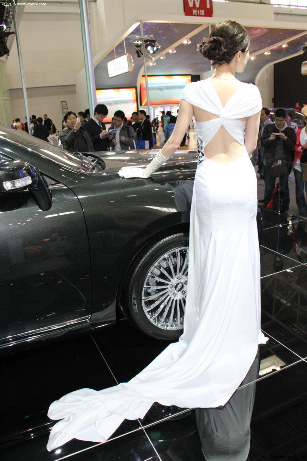 2010北京车展 车模活动