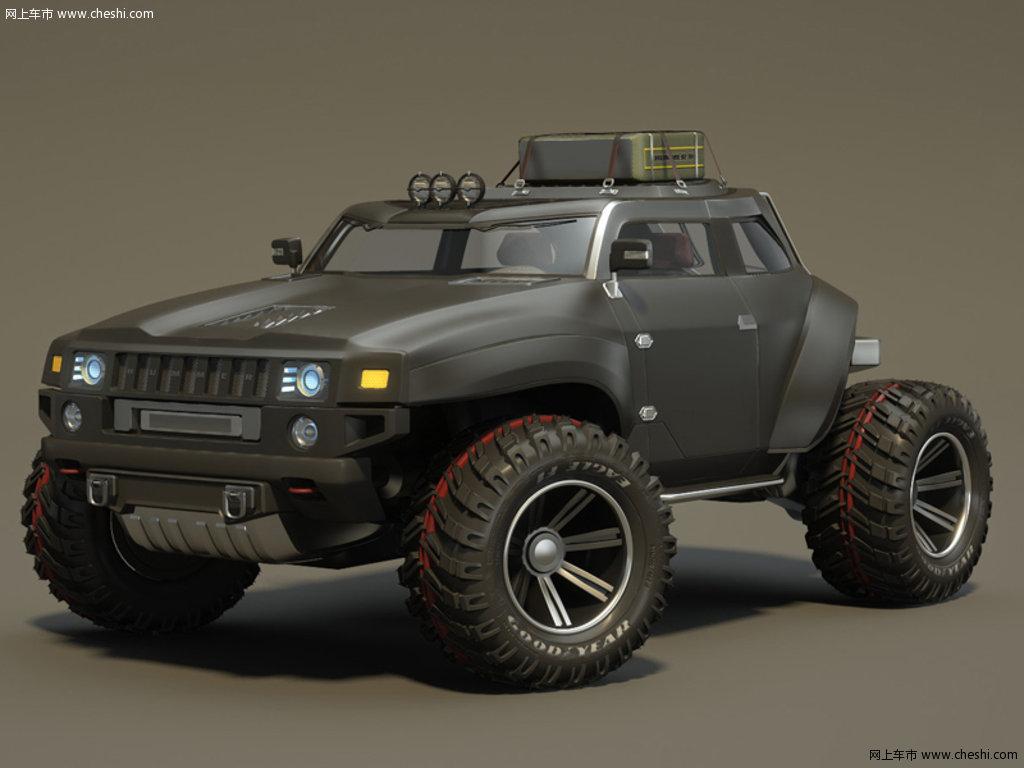 悍马hb概念车图片