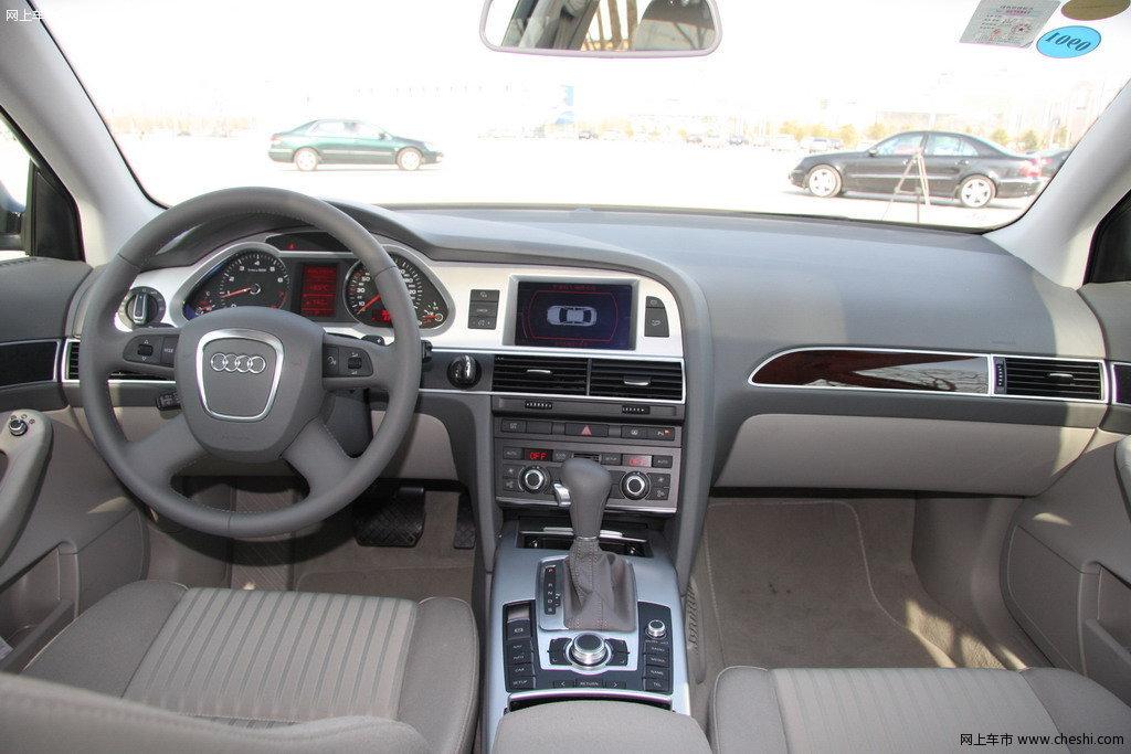 奥迪 新a6l 2009款中控方向盘
