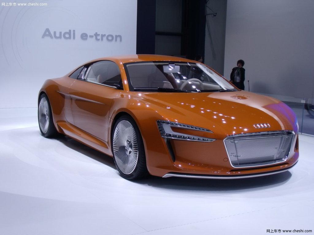 奥迪(进口) 奥迪e-tron 概念车 车展外观整体