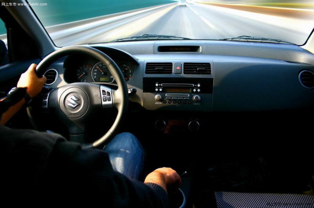 铃木雨燕风景车辆中控方向盘安徽鱼龙洞图片