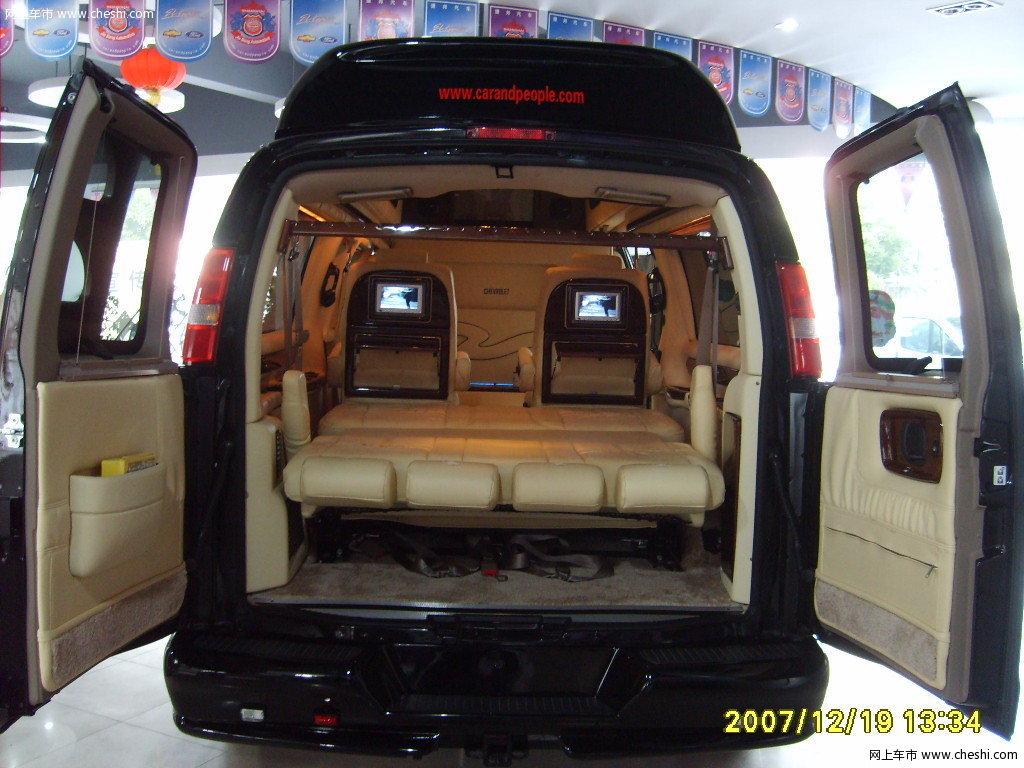 雪佛兰 express 后备厢整体 车厢座椅