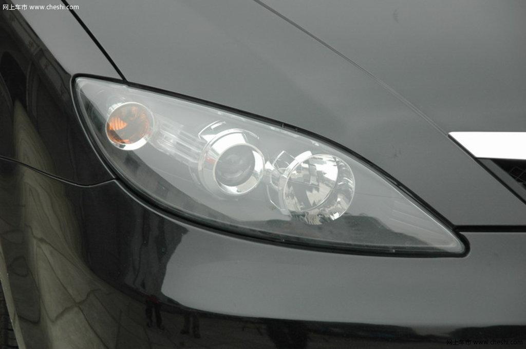 海马汽车 海马3 右大灯部分 外观细节