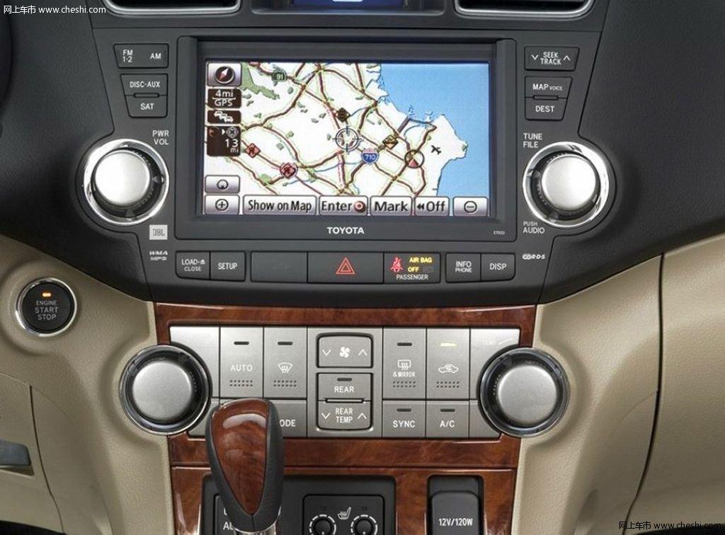中控方向盘 2011款 汉兰达中控方向盘  速度3秒 5秒8秒提示:按键盘 ←
