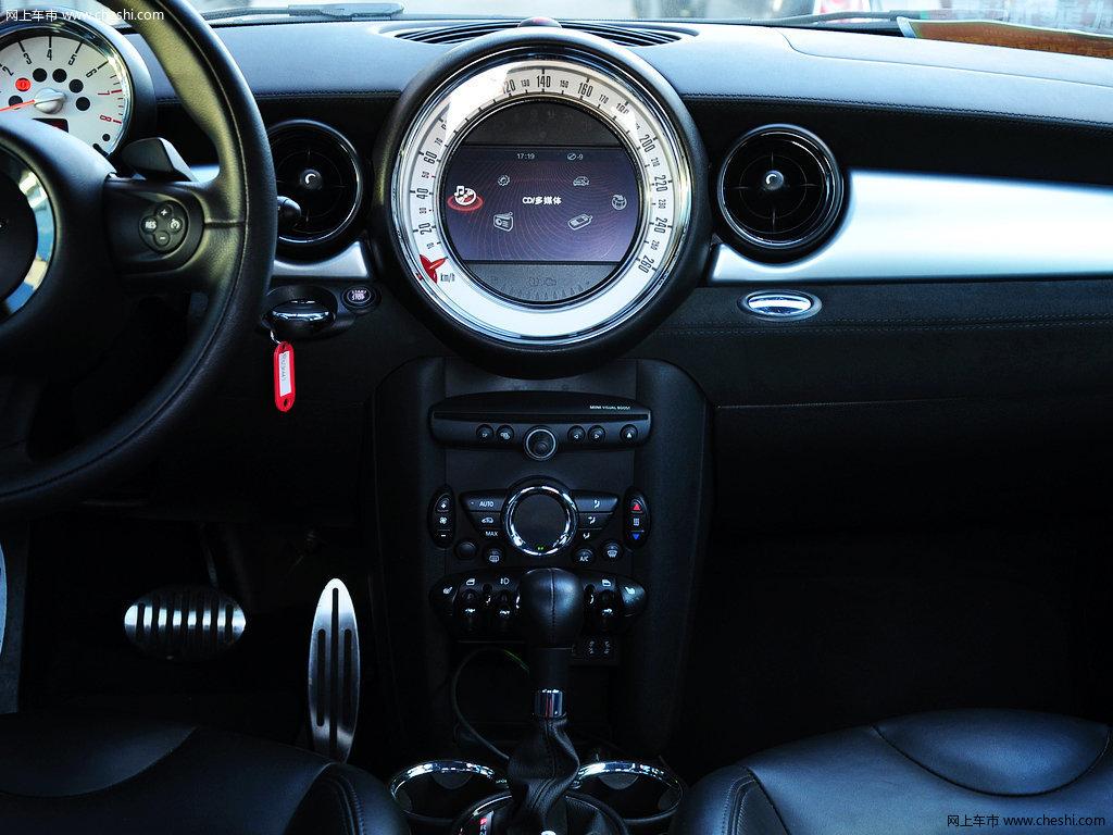 mini coupe 2012款 1.6t atcouper s版内饰中控高清图片