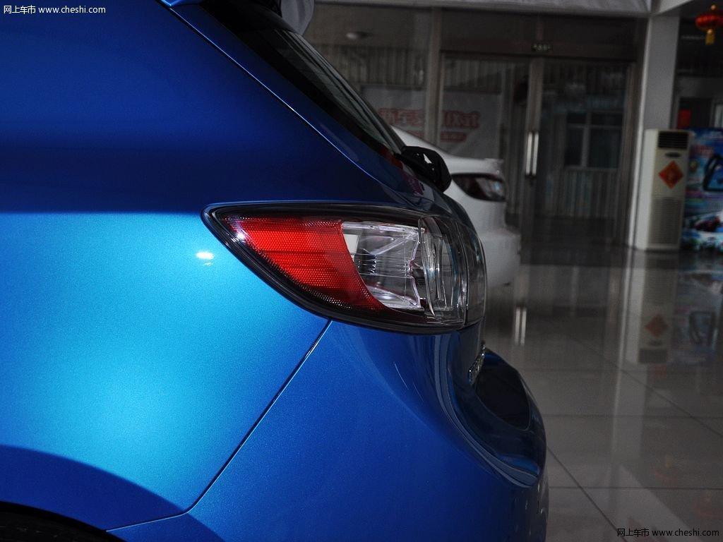 晴空蓝马自达3星骋 2013款 两厢 1.6 自动精英型外观细节高清图片 11 高清图片