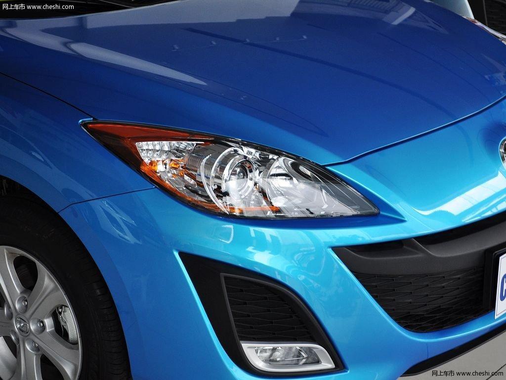 晴空蓝马自达3星骋 2013款 两厢 1.6 自动精英型外观细节高清图片 2 高清图片