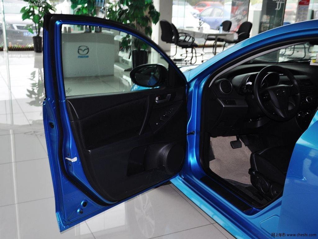 晴空蓝马自达3星骋 2013款 两厢 1.6 自动精英型车厢座椅高清图片 8 高清图片