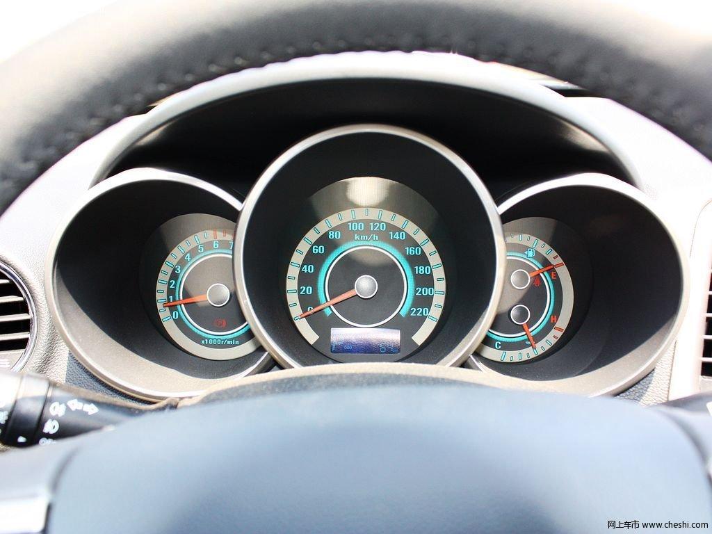 逸动1.6 at 豪华型 2013款中控方向盘