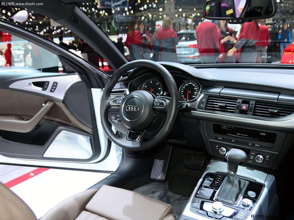 白色奥迪A6 2013款 Allroad quattro中控方向盘高清图片 16 18 网上车高清图片