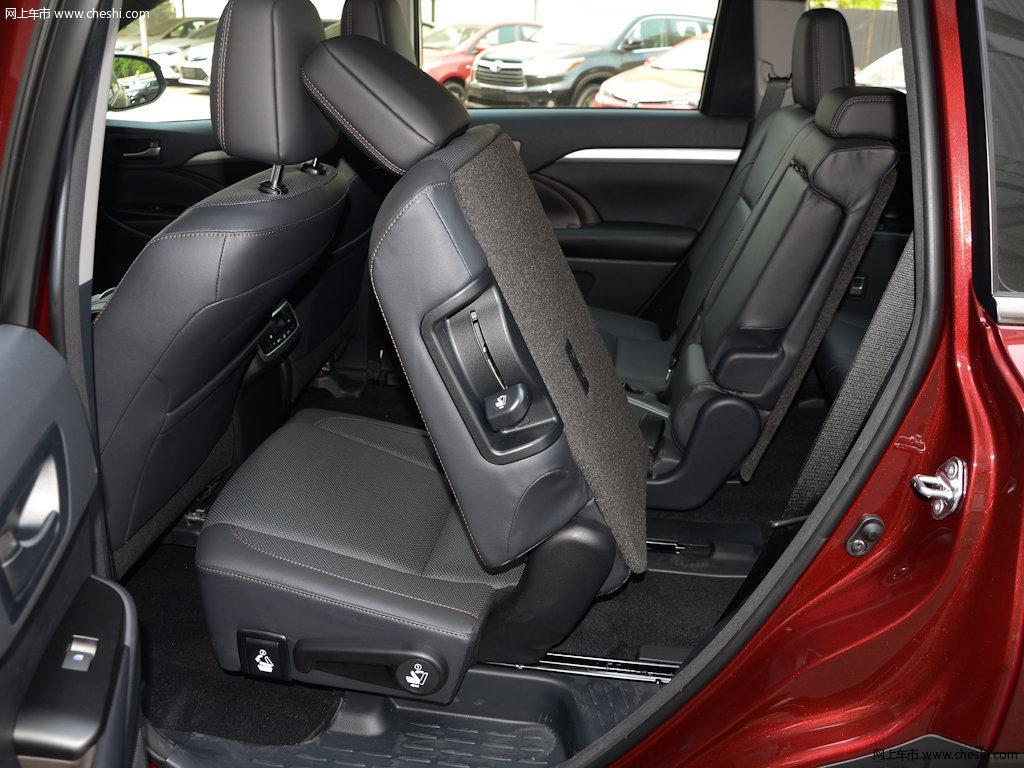 汉兰达 2017款 2.0t四驱豪华版 7座座椅空间图片(42/)