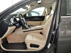 宝马(进口)  730Li 3.0L AT 驾驶席座椅正视图