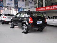 北京现代  途胜 2.0L MT 车辆左后45度视角