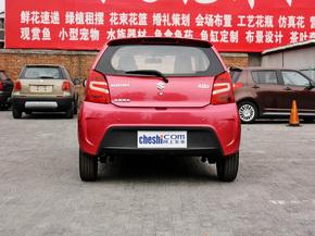 长安铃木  1.0L 自动 车辆正后方尾部视角