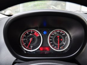 MG  1.5L 自动 方向盘后方仪表盘
