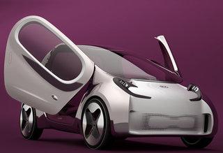 起亚POP 概念车 油电混合型 2011款 起亚POP概念车汽车 起亚高清图片