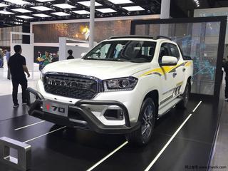 2020款2.0T柴油手动四驱纪念版长厢高底盘