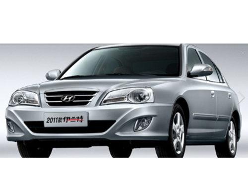 北京现代伊兰特银色现车优惠1万 高清图片