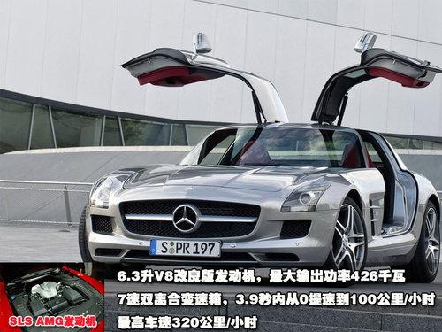 900万天价罚单 奔驰sls超速被警察没收 奔驰amg 网上车市高清图片