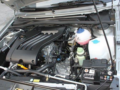 一汽-大众  捷达 1.6 MT 发动机主体特写