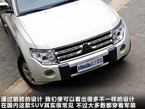 北京进口三菱4s店 2014款进口三菱帕杰罗价格不错 配置很高清图片