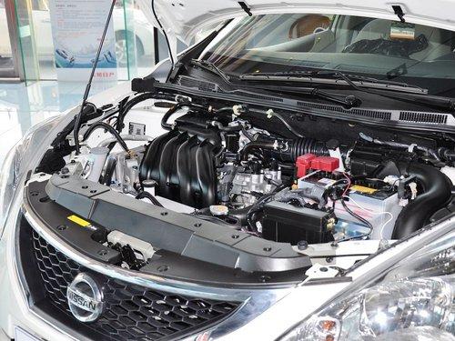 东风日产  1.6L CVT 发动机主体特写