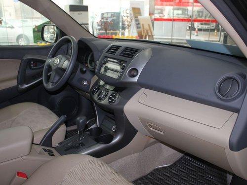 一汽丰田  RAV4 2.0 AT 中控台右侧