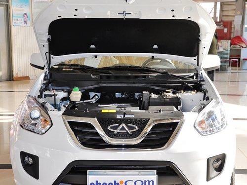奇瑞汽车  精英版 1.6L MT 发动机局部特写