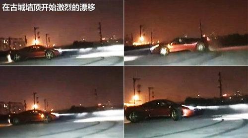 法拉利漂移所带来的破坏程度及影响.让我们先来看看中华门的高清图片