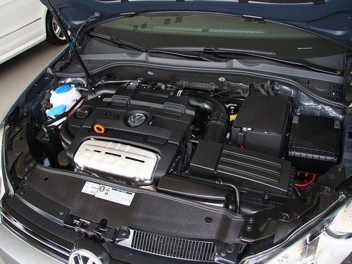 大众(进口)  1.4TSI 发动机主体特写