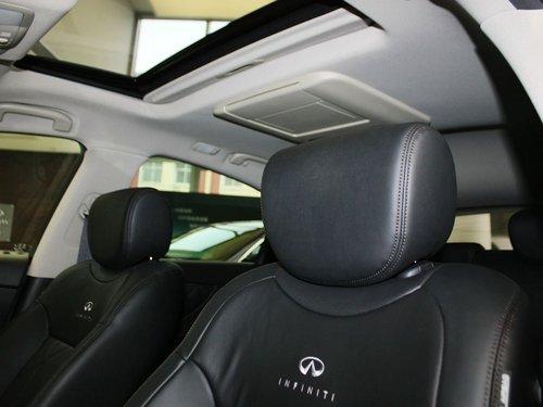 英菲尼迪 fx37 3.7l 驾驶席座椅头枕特写高清图片