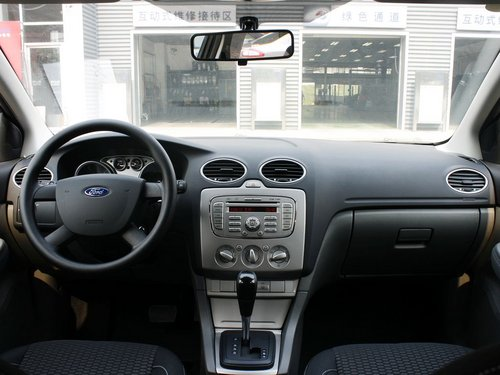 长安福特  三厢 1.8L 自动 中控台整体