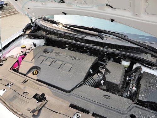 一汽丰田  1.6GL 手动 特装版 发动机主体特写