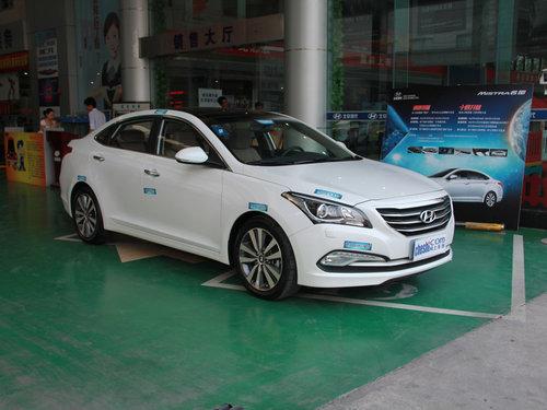 北京现代  名图 车辆右侧45度角