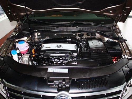 一汽-大众  1.8TSI DSG 发动机局部特写