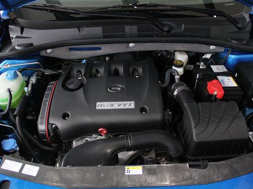 广汽  1.6L 自动 发动机主体特写