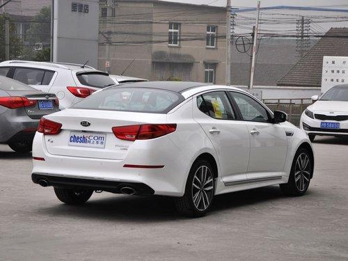 东风悦达起亚  2.0T AT 车辆右侧尾部视角