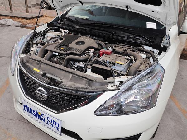 东风日产  1.6T M-CVT 发动机主体特写