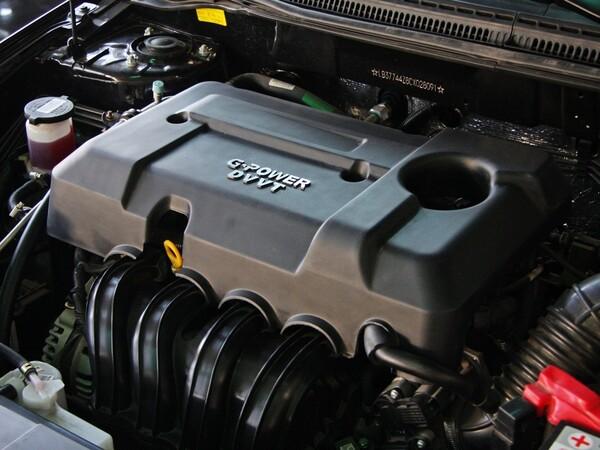 吉利全球鹰  1.8L 自动 发动机主体特写