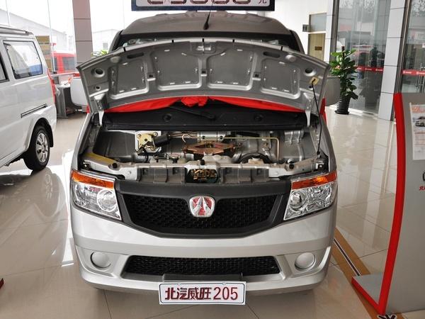 北汽威旺  1.0L 手动 车辆发动机舱整体