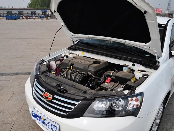 吉利汽车  1.5L 手动 发动机主体特写