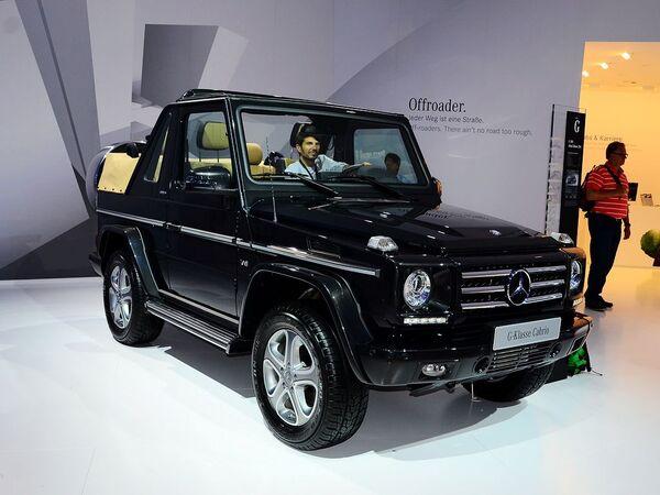 奔驰(进口)  G500 Cabrio