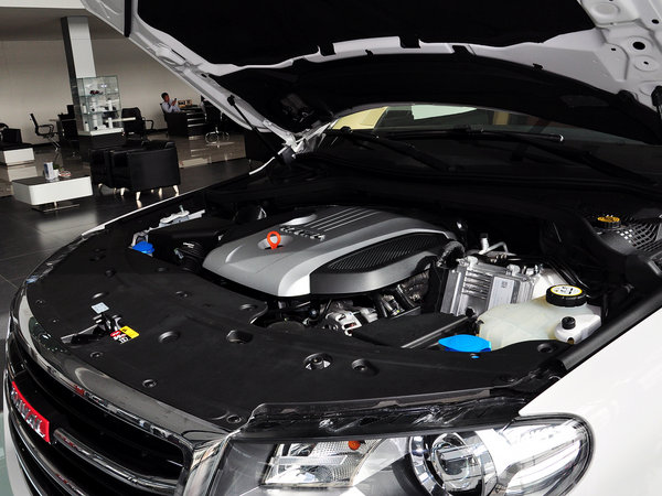 哈弗汽车  2.0T 自动 发动机